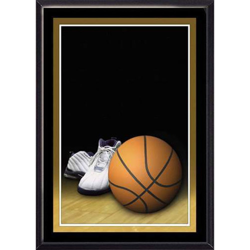"5"" x 7"" Basketball Plaque"