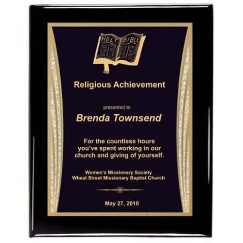 Bible Religious Plaque