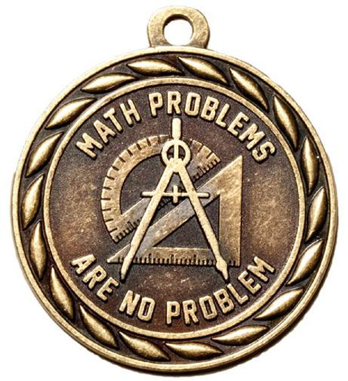 Math Problems Medal