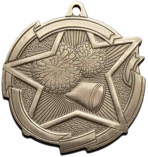 Star Cheerleading Medal