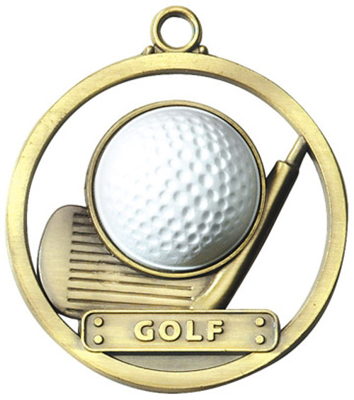 Game Ball Golf Medal