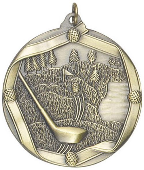 Ribbon Golf Medal