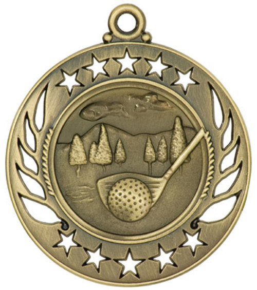 Galaxy Golf Medal