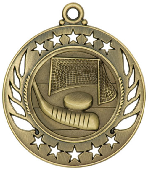Galaxy Hockey Medal