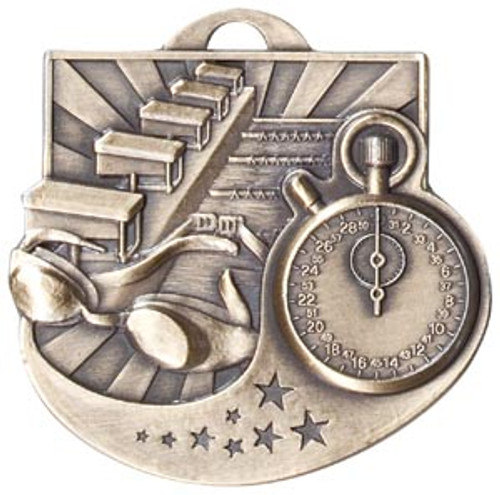 Star Blast Swimming Medal