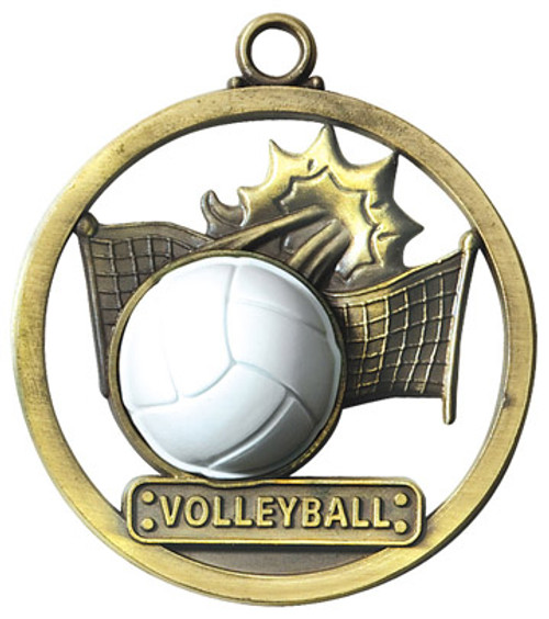Game Ball Volleyball Medal