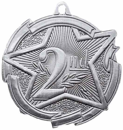 Star Second Place Medal
