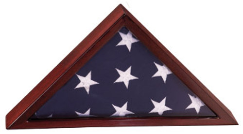 14 in Rosewood Piano Finish Flag Box