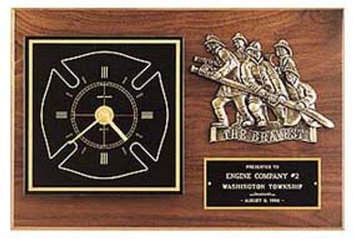 Maltese Cross Award Clock