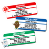 Allergy Warning Stickers for Children