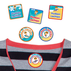 Camp Clothing Labels