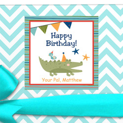 Cute Birthday Gift Labels