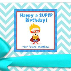 Custom Birthday Gift Labels
