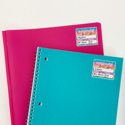 School Notebook Name Labels
