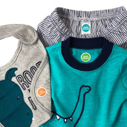 Iron On Name Labels for Childrens Clothing