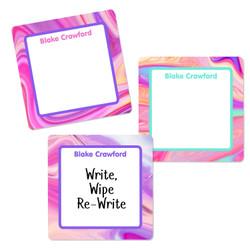 Liquid Square Write-On Labels