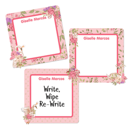 Swans Square Write-On Labels