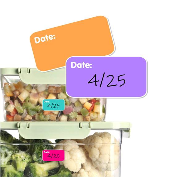 Reusable Date Labels