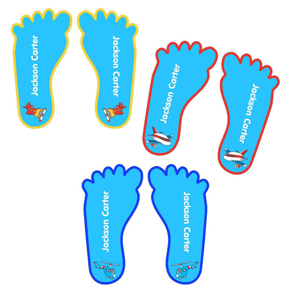 Shoe Name Labels for Children Shoes