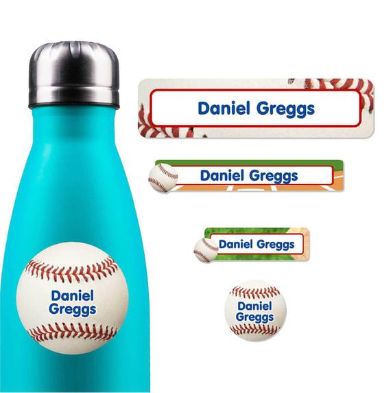 Baseball Party Favor Labels