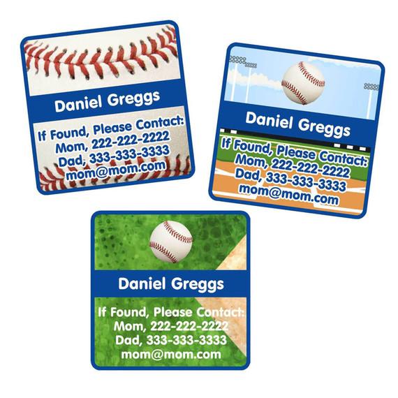 Baseball Contact Labels