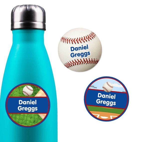 Water Bottle Name Labels