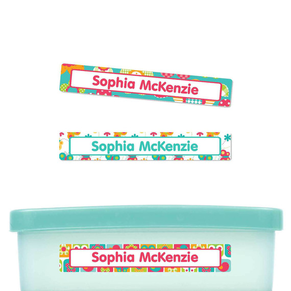 All Things Spring Slim Rectangle Labels
