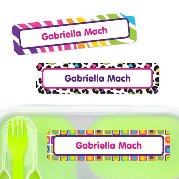 Large Name Stickers Dishwasher Safe