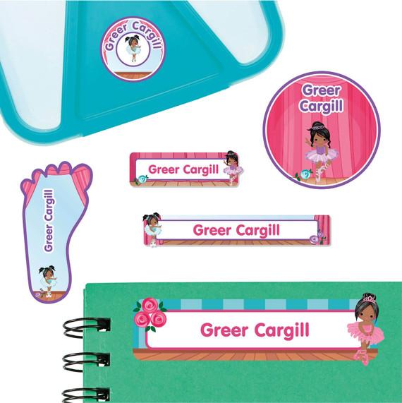 Ballet  Starter Labels for Preschool and Daycare