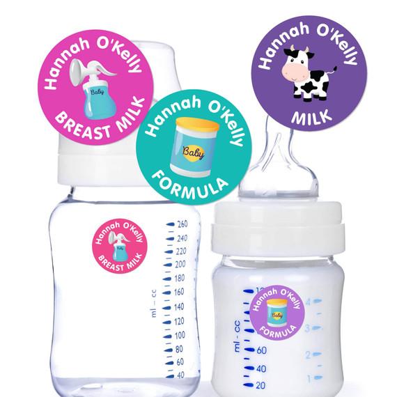 Breast Milk Formula Labels for Daycare