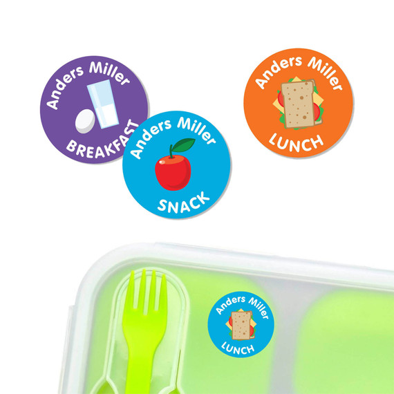 Snack and Meal Labels for Daycare