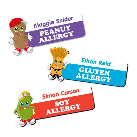 Food Allergy Labels for Children