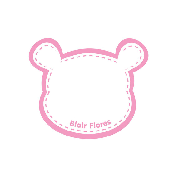 Baby Bottle Name Stickers