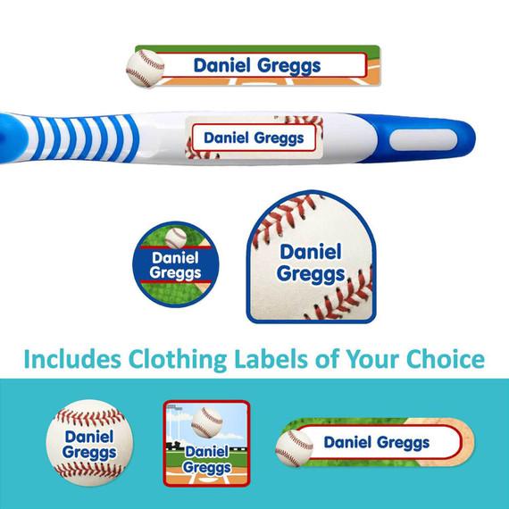 Baseball Labels for Nursing Home Patients