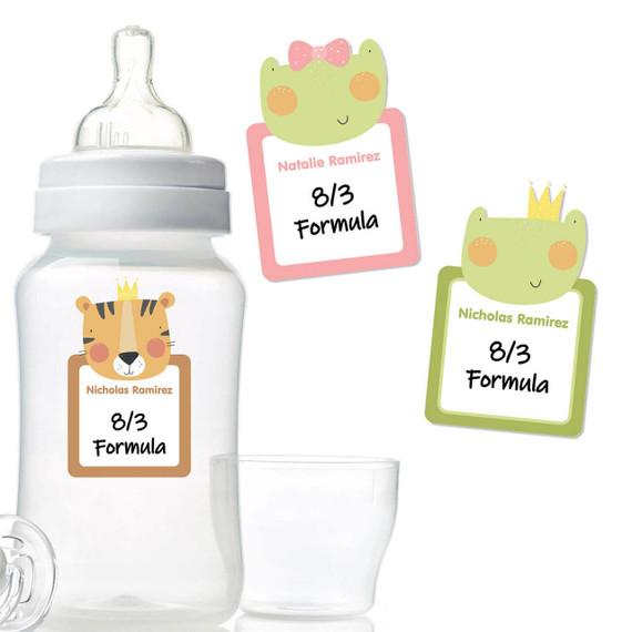 Cute Write-On Bottle Labels
