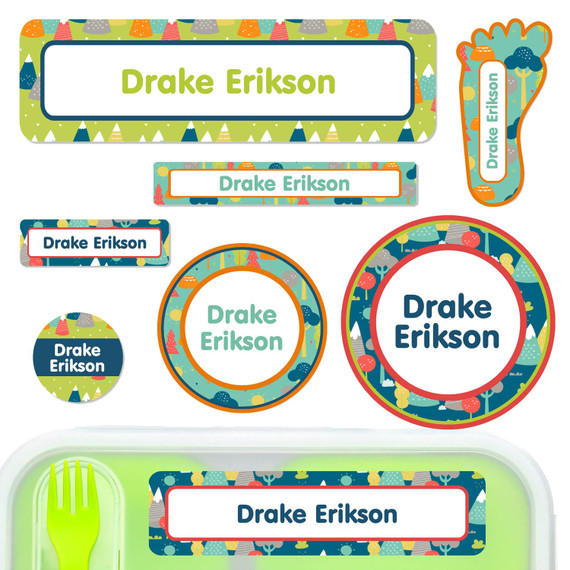 Name Labels for Daycare