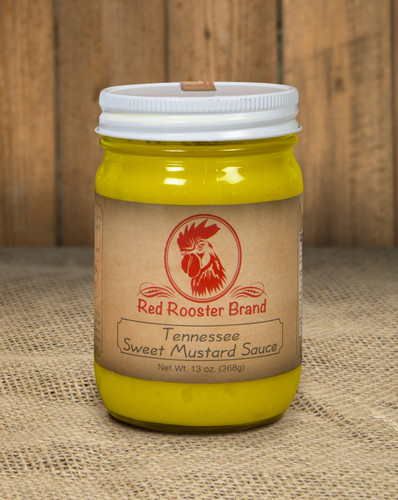 Tennessee Sweet Mustard Sauce  -  13 oz. Jar