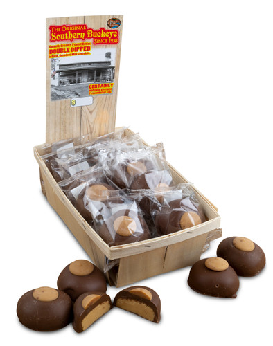 Old Fashioned Southern Buckeye Display - 3/24 count Case