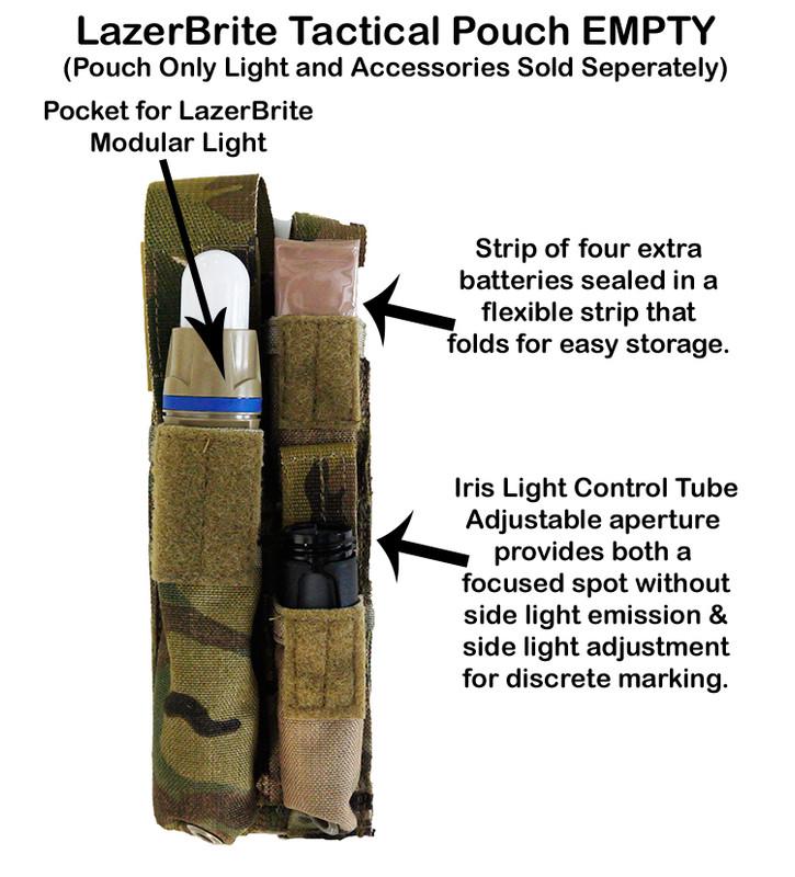 LazerBrite Tactical Pouch - Empty