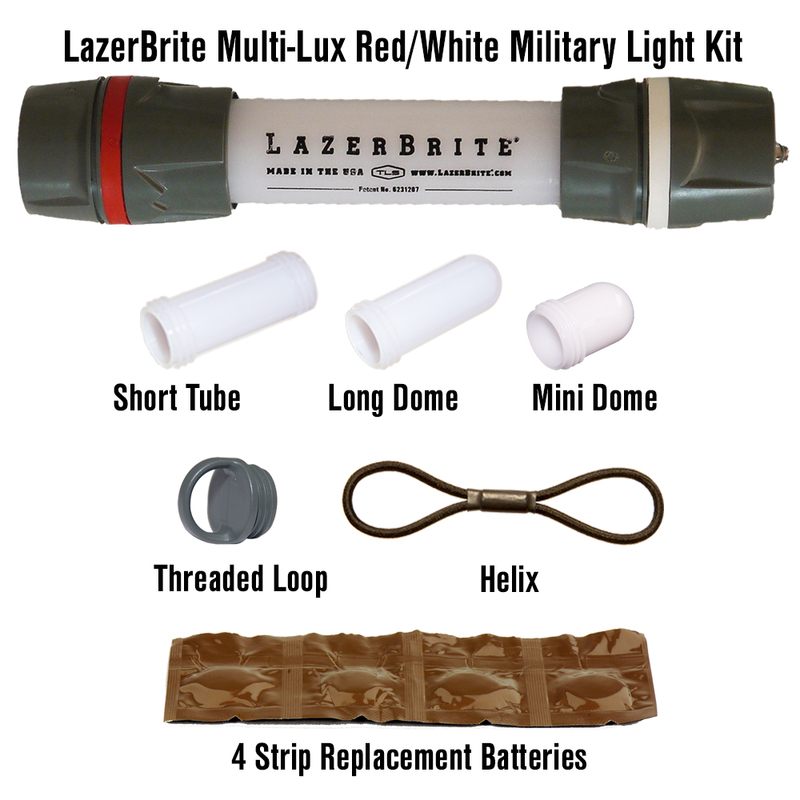 LazerBrite Multi-Lux Military Light - Kit
