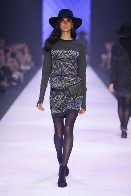 Lily Dress Charcoal