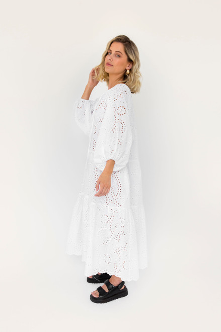 Tilly Maxi - Embroidery Anglaise