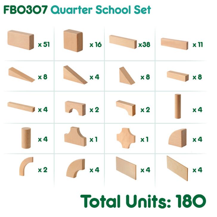 Quarter School Set
