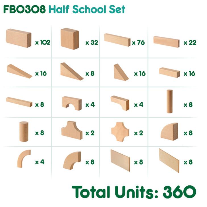 Half School Set