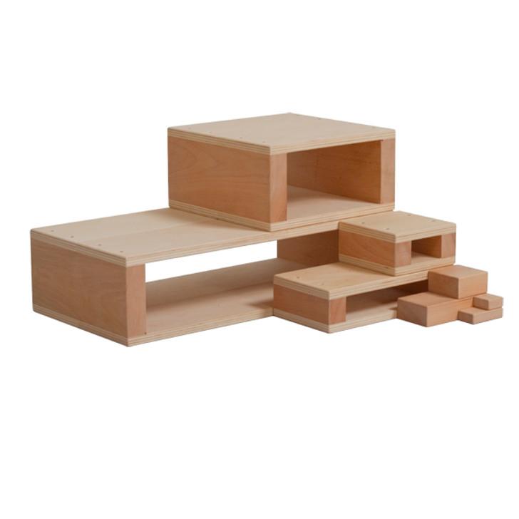 Mini Hollow Blocks - Introductory Set - 7 pcs