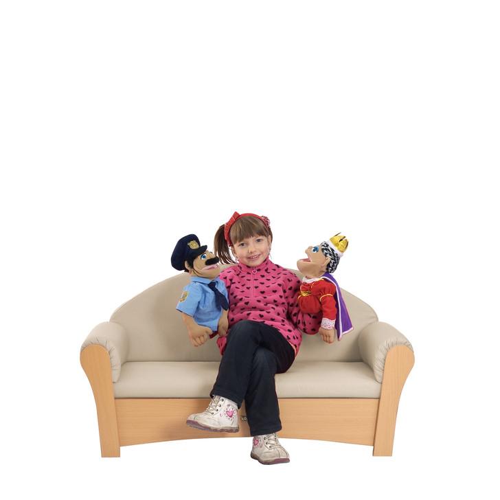 [Per-sale]Child's Sofa, Neutral