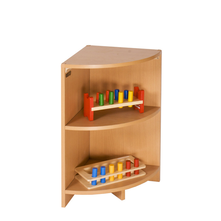 "Corner Shelf 28"" w/ One Shelf"