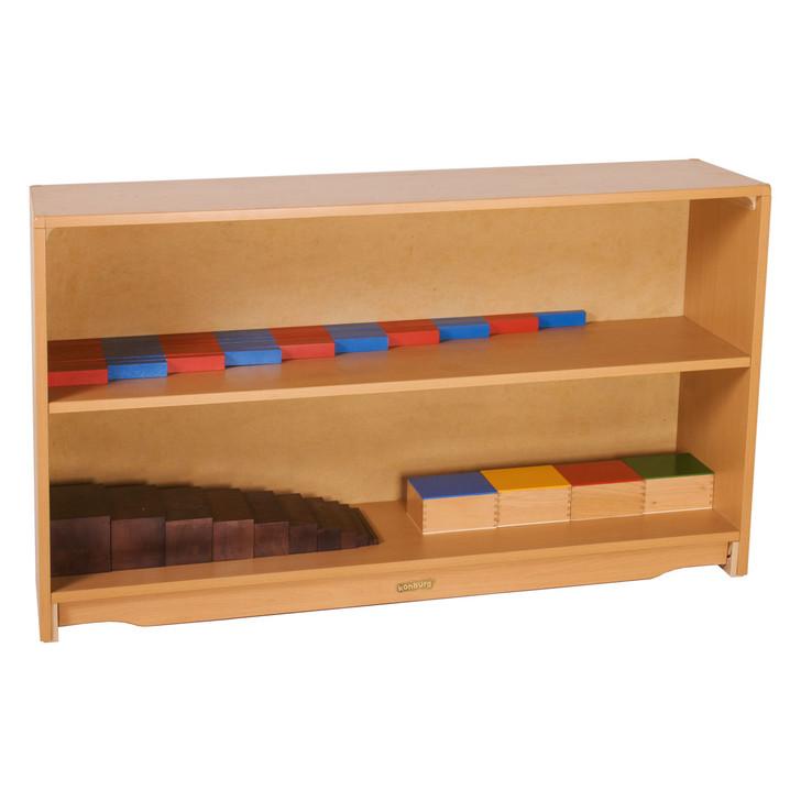 "[Per-sale]Closed Back Shelf 4' x 28"" w/ One Shelves"
