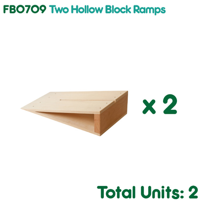 Two Hollow Block Ramps