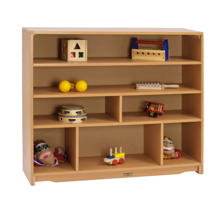 "Closed Back Shelf 4' x 40"""